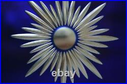 4 cut glass glory stars (spare leaded light stained glass window door). A1139b