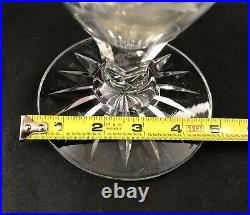 Antique Signet Hawkes ABP Cut Glass WILD ROSE Pattern 18 Vase Signed