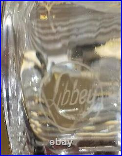 LIBBEY Antique American Brilliant Cut Glass Pitcher STUNNING