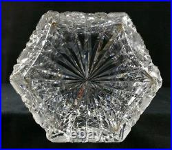 Large Antique ABP Cut Glass Vase 8.7x14.5 Classic Pairpoint No Makers Mark VFINE